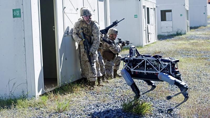 Robot chiến đấu của Google mở ra tương lai cho bộ binh - ảnh 1