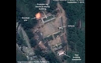Hé lộ hình ảnh Triều Tiên tái hoạt động thử nghiệm hạt nhân - ảnh 1