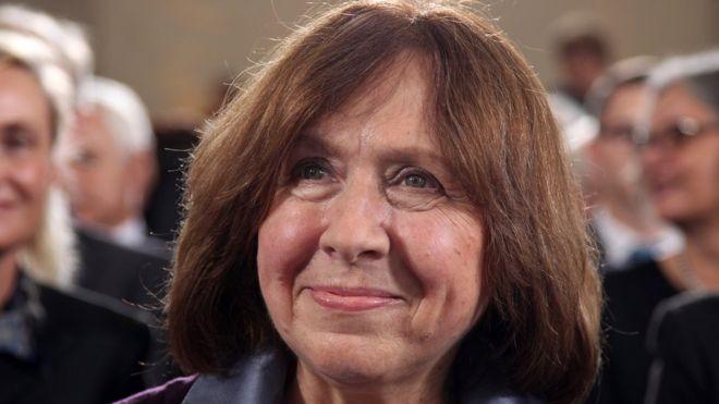 Giải Nobel Văn chương 2015 vinh danh nữ nhà văn Belarus - ảnh 1