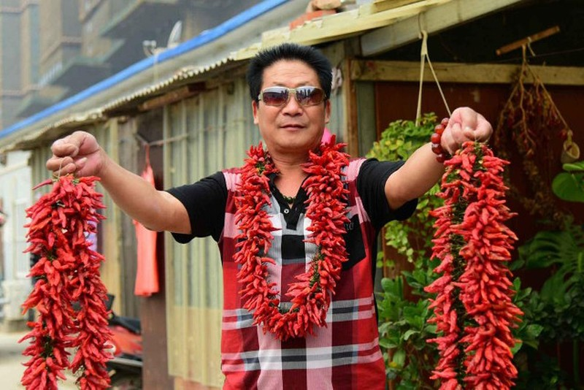 'Vua ớt' Trung Quốc ăn 2,5 kg ớt/ngày - ảnh 3