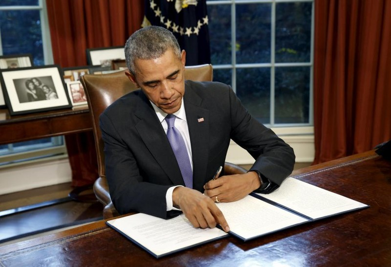 Tổng thống Obama phủ quyết Dự luật quốc phòng 612 tỉ USD - ảnh 1