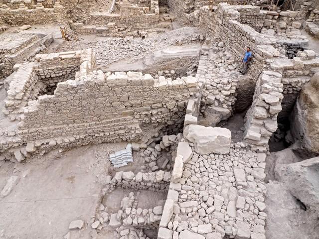 Phát hiện pháo đài Hy Lạp cổ dưới nền Jerusalem - ảnh 1