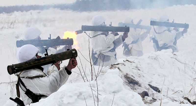 Súng phun lửa 'chết chóc' của Nga xuất hiện tại Syria - ảnh 1