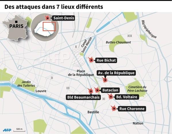 Bão táp khủng bố ở Pháp: ' Gần 160 người chết, đóng cửa Paris!' - ảnh 1