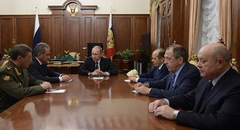 Ông Putin thề sẽ trừng trị thủ phạm đánh bom máy bay Nga - ảnh 1