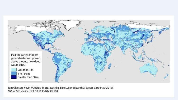 'Đại dương' 23 triệu tỉ mét khối nước ẩn mình dưới vỏ Trái đất - ảnh 1