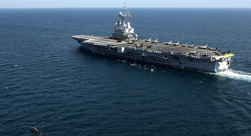 Hải quân Pháp và quân đội Nga 'hợp quân' chống IS - ảnh 1