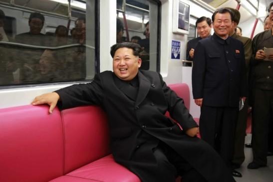 Ông Kim Jong-un thị sát tàu điện ngầm mới của Bình Nhưỡng - ảnh 1
