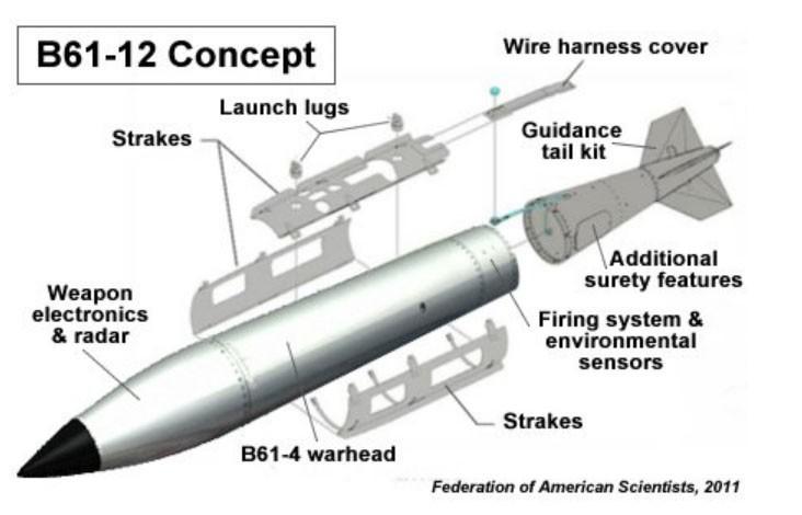 Mỹ kiểm tra thành công vũ khí hạt nhân mới - ảnh 2