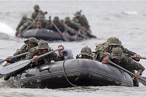 Hàn Quốc tiến hành tập trận bất chấp đe dọa từ Triều Tiên - ảnh 2