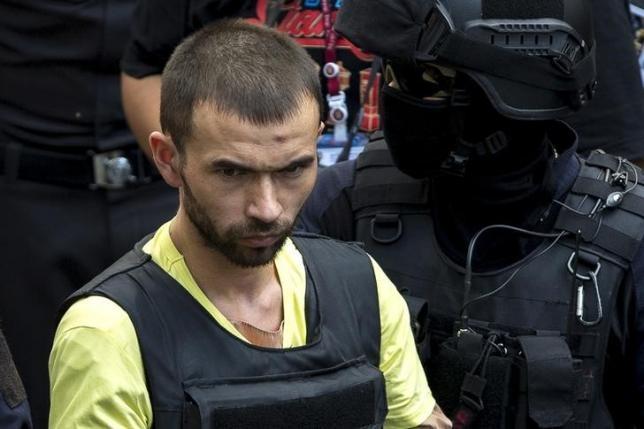 Tòa án quân sự Thái Lan luận tội hai bị can đánh bom Bangkok - ảnh 1