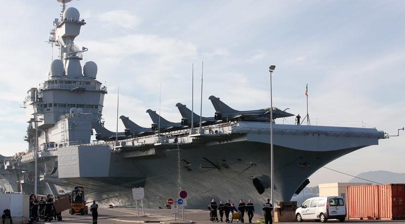 Tàu sân bay Pháp khởi động chiến dịch không kích IS - ảnh 1