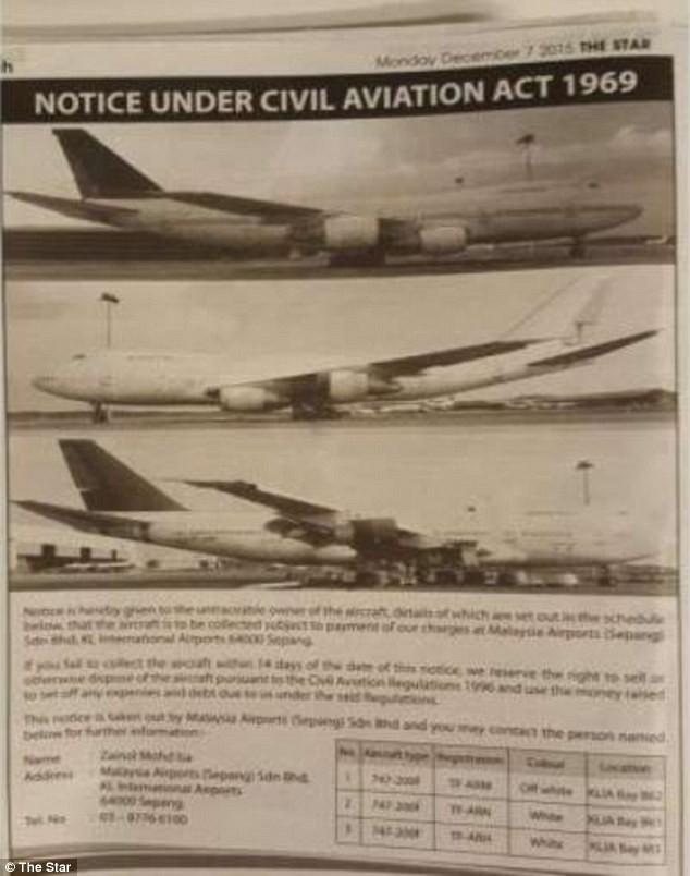 Tìm chủ nhân ba máy bay 'bỏ hoang' hơn một năm tại sân bay - ảnh 1
