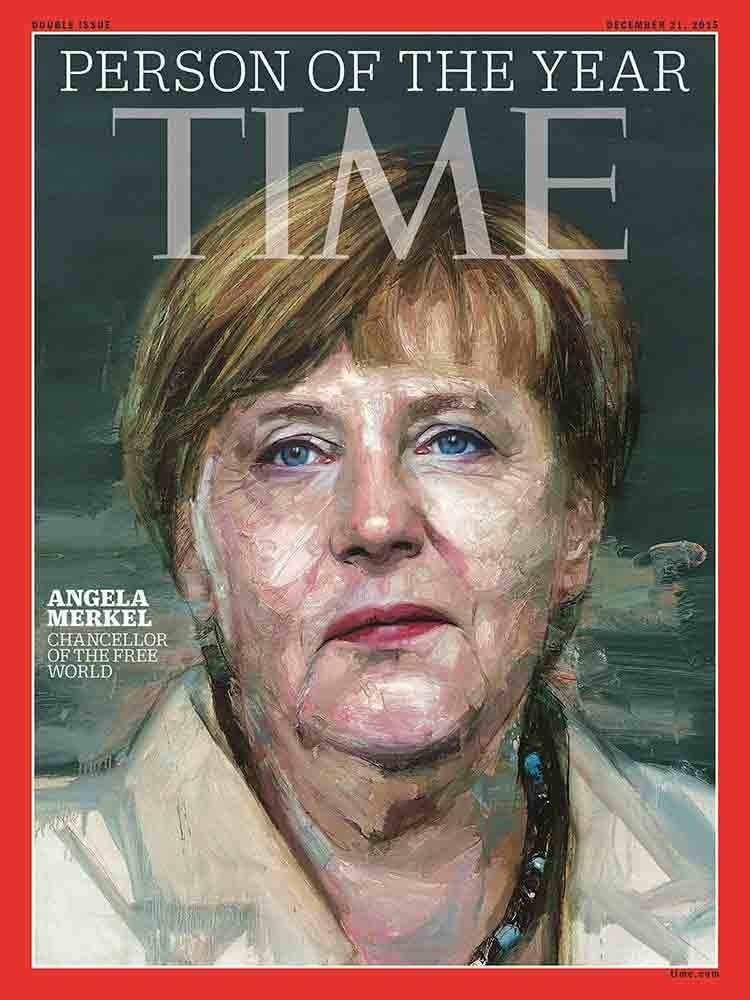 Nữ thủ tướng Đức Angela Merkel được chọn là 'Nhân vật của năm' - ảnh 1