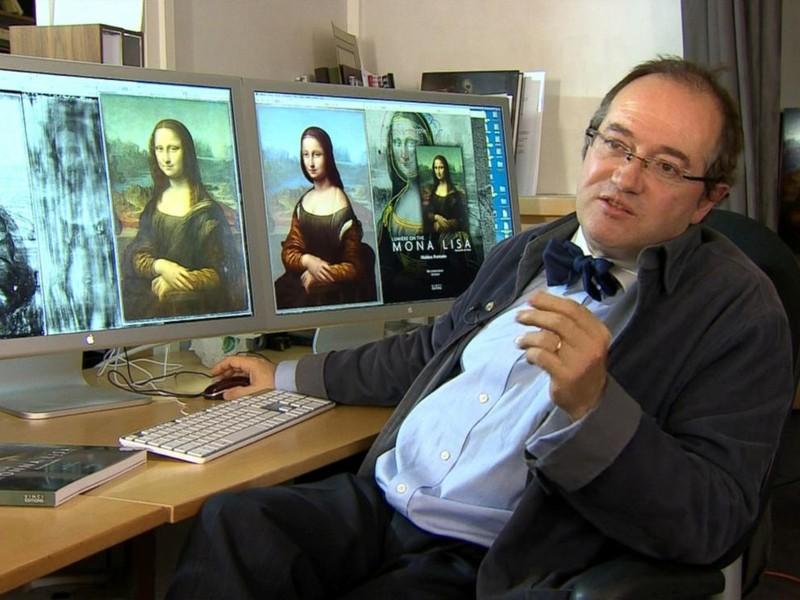 Phát hiện chân dung khác ẩn dưới kiệt tác 'Mona Lisa' - ảnh 1