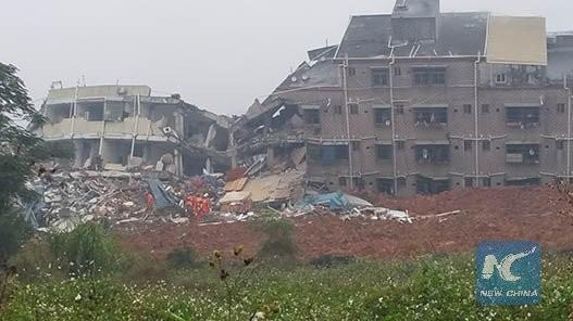 Lở đất kinh hoàng tại Thâm Quyến nuốt chửng 22 tòa nhà - ảnh 4
