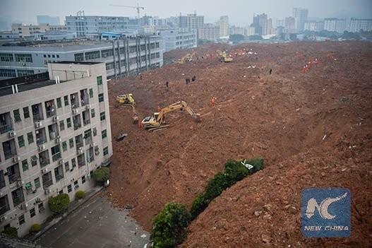Lở đất kinh hoàng tại Thâm Quyến nuốt chửng 22 tòa nhà - ảnh 3