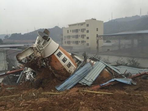 Lở đất kinh hoàng tại Thâm Quyến nuốt chửng 22 tòa nhà - ảnh 6
