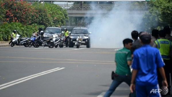 Cuộc tấn công khủng bố tại Indonesia đã kết thúc - ảnh 8