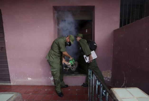 Cuba điều động 9.000 quân chống virus Zika - ảnh 1