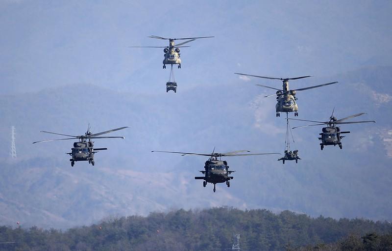 Mỹ - Hàn tập trận mô phỏng tấn công phủ đầu Triều Tiên - ảnh 1