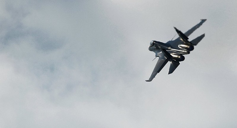 Nga 'thay máu' chiến đấu cơ tại Crimea bằng Su-30SM - ảnh 1