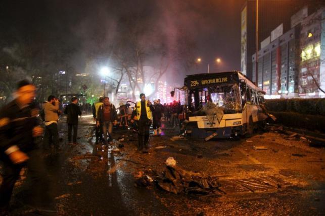 Đánh bom chấn động thủ đô Thổ Nhĩ Kỳ, 32 người thiệt mạng - ảnh 1