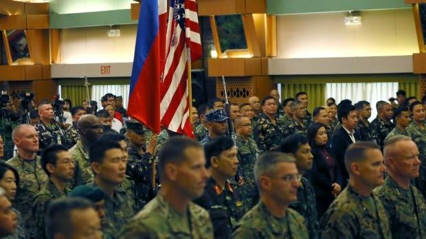 Trung Quốc lên tiếng cảnh báo tập trận Mỹ - Philippines - ảnh 1