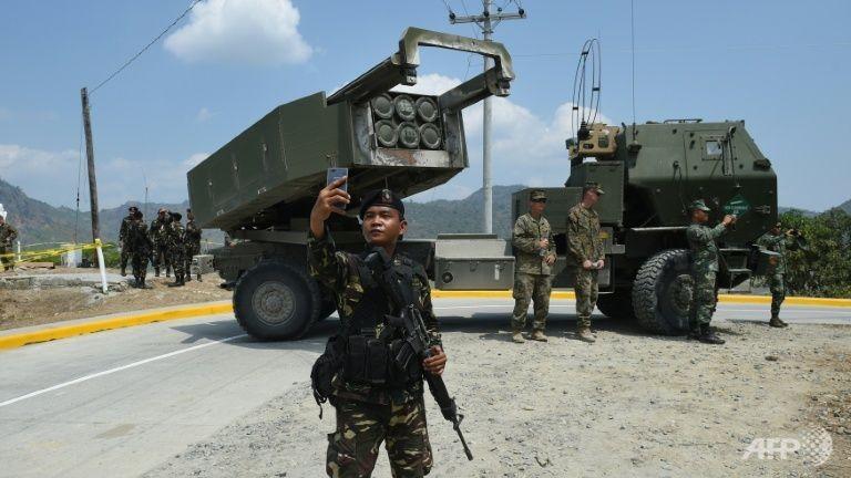 Mỹ bắn tên lửa 'khủng' trong cuộc tập trận gần biển Đông - ảnh 1