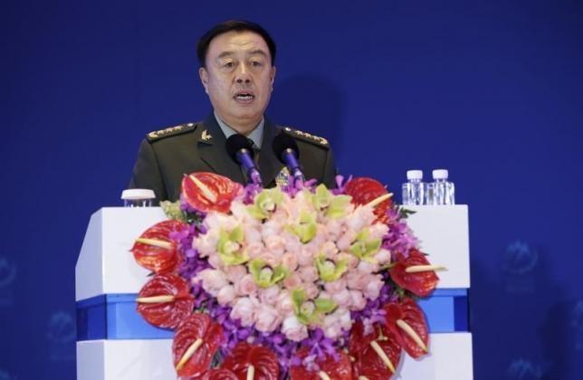 Phó chủ tịch quân ủy Trung Quốc ngang nhiên thăm các đảo nhân tạo - ảnh 1
