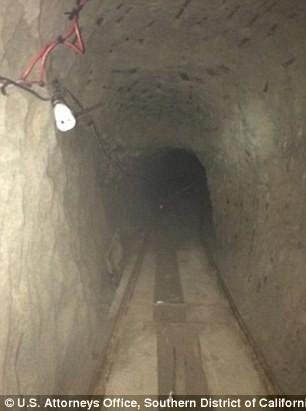 Triệt phá đường hầm buôn má túy xuyên biên giới dài kỷ lục - ảnh 1