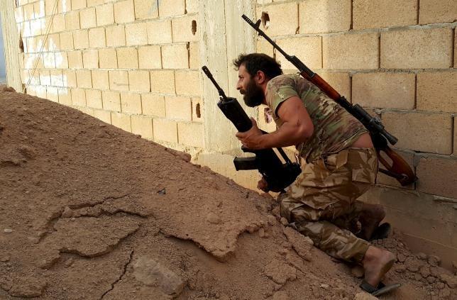 Quân IS bị đẩy lui khỏi thành phố miền Đông Libya - ảnh 1