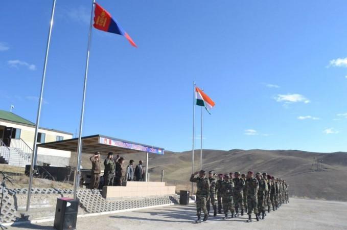 Ấn Độ - Mông Cổ phối hợp tập trận chung 'Voi du mục' - ảnh 1