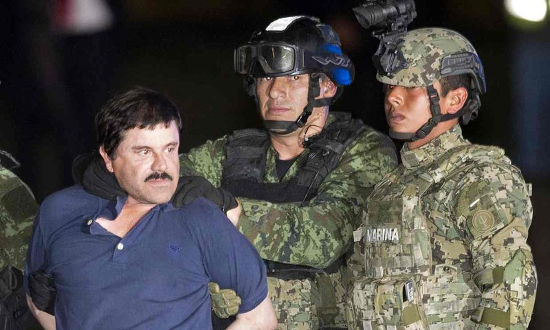 Trùm ma túy khét tiếng chuyển tù sát biên giới Mỹ - ảnh 1