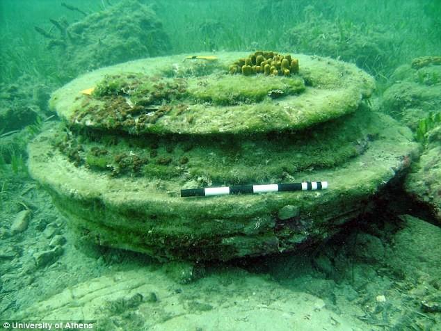 Giải mã bí ẩn 'thành phố mất tích' ngoài khơi Hy Lạp - ảnh 3