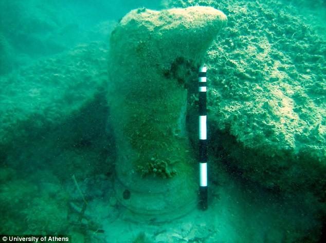 Giải mã bí ẩn 'thành phố mất tích' ngoài khơi Hy Lạp - ảnh 5