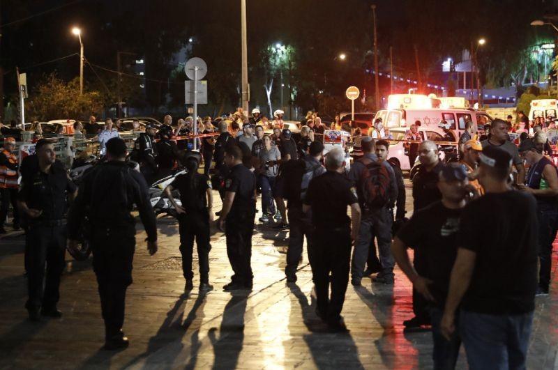 Xả súng giữa trung tâm Tel Aviv làm rúng động Israel - ảnh 1