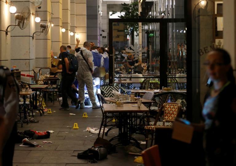 Xả súng giữa trung tâm Tel Aviv làm rúng động Israel - ảnh 2
