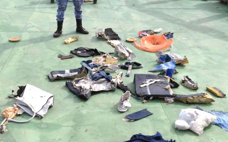 Đã tìm thấy xác máy bay Ai Cập bị mất tích - ảnh 1