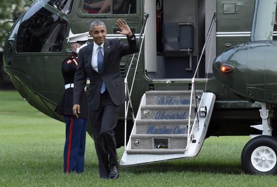 Đệ nhất phu nhân Mỹ tấm tắc khen ông Obama luôn 'ngầu' - ảnh 1