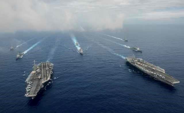 Lãnh đạo Hải quân Mỹ gửi thông điệp cứng rắn về Biển Đông - ảnh 1