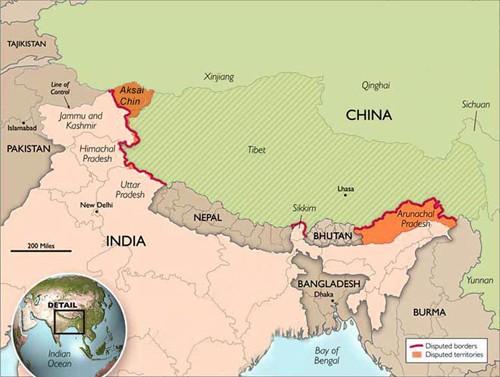 Ấn Độ tố máy bay Trung Quốc xâm phạm không phận - ảnh 2