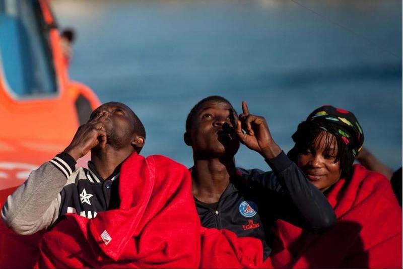 người tị nạn vượt biên sang châu Âu
