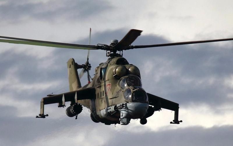 Trực thăng Nga rơi tại Syria