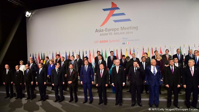 Trung Quốc chặn biển Đông 'bước vào' thượng đỉnh Á-Âu - ảnh 1