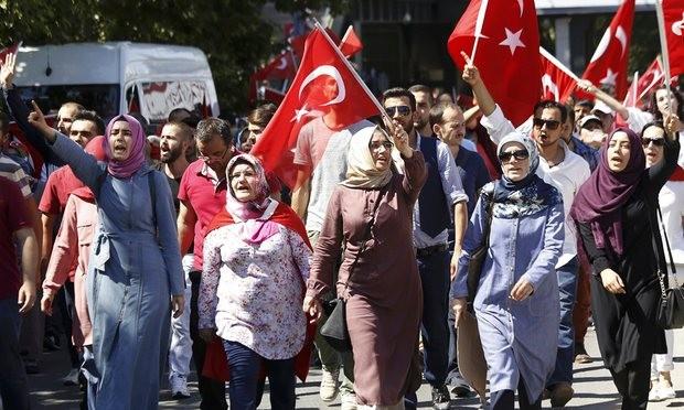 Hàng triệu người tuần hành ủng hộ Tổng thống Thổ Nhĩ Kỳ - ảnh 2