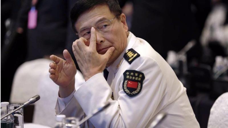 Đô đốc Tôn Kiến Quốc - Phó Tổng tham mưu trưởng quân đội Trung Quốc.