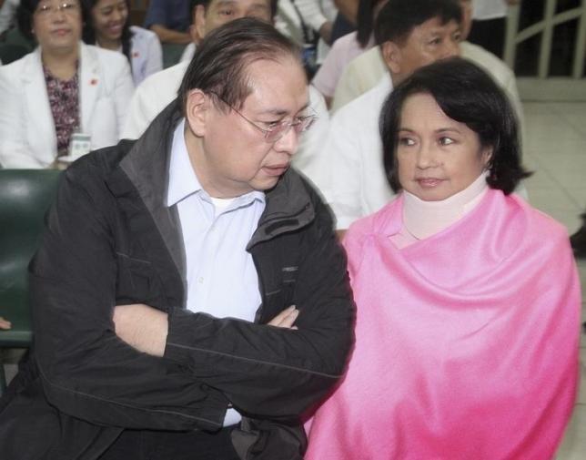 Bà Arroyo được thả tự do