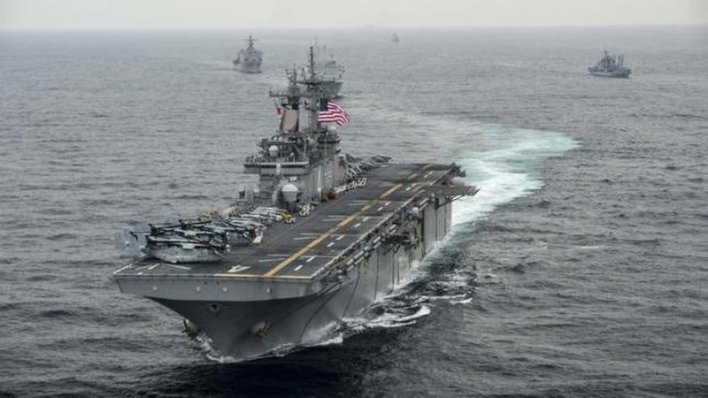 Đến Trung Quốc, tư lệnh Mỹ tuyên bố tiếp tục tuần tra biển Đông - ảnh 1