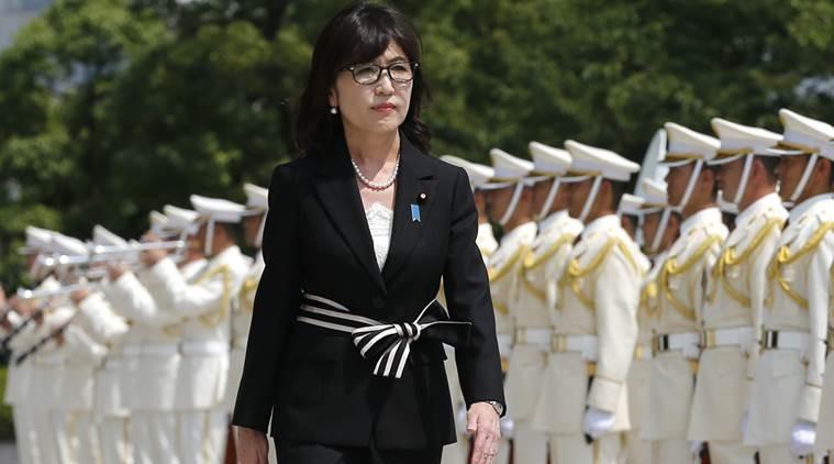 Bà Tomomi Inada chính thức nhậm chức Bộ trưởng Quốc phòng Nhật Bản vào ngày 4-8. Ảnh: AP